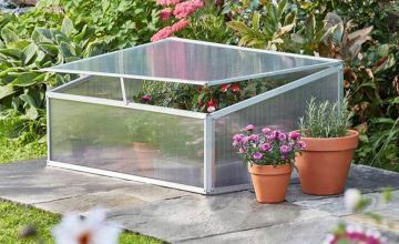 £39 instead of £69.99 (from CJ Offers) for a garden grow aluminium cold frame - save 44%