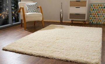 From £10.99 instead of £24.99 (from Mega Store Online) for a shaggy rug - choose from 4 colours and 17 sizes and save up to 56%