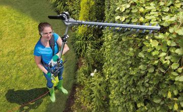 £69 instead of £174.95 (from CJ Offers) for a 900W extendable hedge trimmer - save 61%