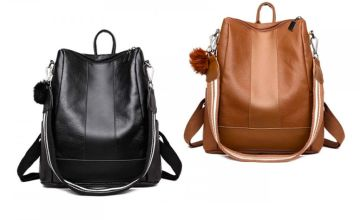 £9.99 instead of £39.99 (from My Blu Fish) for a faux leather backpack - save 75%