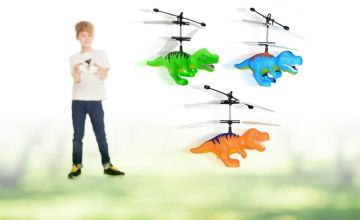 £6.99 instead of £29.99 (from WowWhatWho) for an infrared sensor dinosaur helicopter without remote or £8.99 for an infrared sensor dinosaur helicopter with remote - save up to 77%