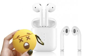 £19 instead of £69.99 (from CNDirect) for a pair of i10 Apple & Siri Compatible Wireless Earbuds with Emoji Case - save 42%