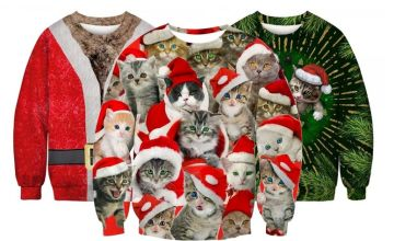 £12 instead of £29.99 (from Blu Fish) for a Christmas jumper - choose from seven designs and save 60%