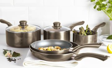 £49.99 (from a365limited) for a Cermalon five piece pewter set