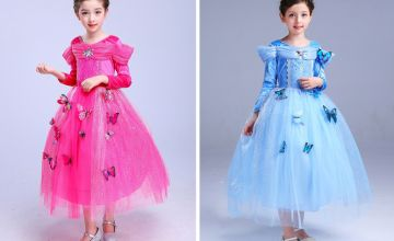 £12.99 instead of £37 (from Whogottheplan) for a kids butterfly costume dress - save 65%