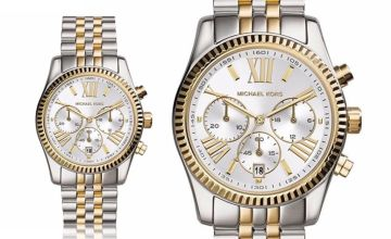 £109 instead of £249 (from Ticara Watches) for a Michael Kors MK5955 lexington ladies chronograph watch - save 56%