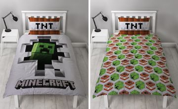 From (from Paperdollz Trading) for Minecraft officially licensed bed sheets - save up to 68%
