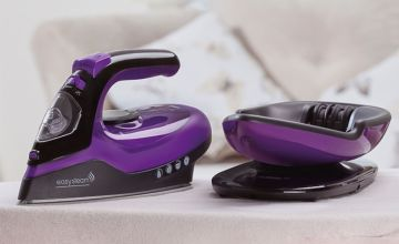 £24.99 instead of £59.95 (from CJ Offers) for a two-in-one cordless ceramic steam iron - save 58%