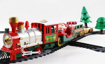£12.99 instead of £35.99 (from SpeZ Zee) for a kids' musical Christmas train toy set - save 64%