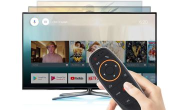£6.99 instead of £25.99 (from SpeZ Zee) for a universal smart TV remote with voice control - save 73%