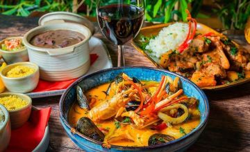 £29 instead of up to £54.30 for a three-course Brazilian feast for two people including a glass of Prosecco and glass of house wine each at Boteco Do Brasil - head to their Edinburgh or Glasgow venue and save up to 47%