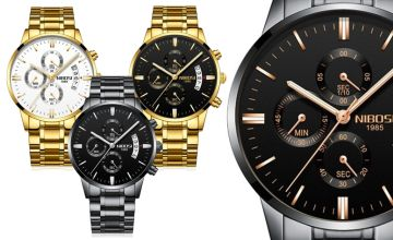 £19.99 instead of £49.99 (from Who Got The Plan) for a men's luxury watch and gift box - save 60%
