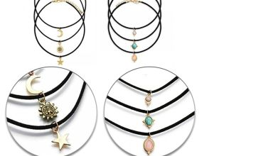 £5.99 instead of £29 for a 6pc Choker Charm Set from Your Ideal Gift - save 79%