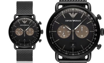£139 instead of £389 (from Ticara Watches) for a Emporio Armani AR11142 men's chronograph watch - save 64%