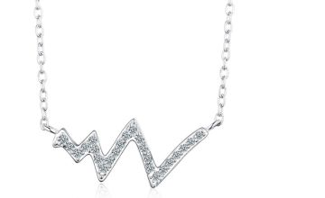 £9.99 instead of £23.99 (from Sreema London) for a heartbeat charm necklace - save 58%
