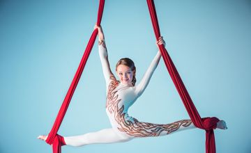 £5 instead of £10 for a child's aerial skills class at GFF Dance Studio, Manchester - save 50%