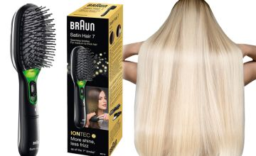 £15.99 instead of £29.99 (from Avant Garde) for a Braun Satin 7 Br710 ionic hairbrush - save 46%