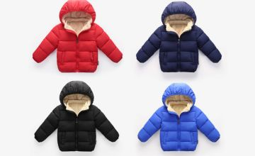 £11.99 instead of £39.99 (from Yello Goods) for a children's unisex puffer coat - choose from ages one to six years and four colours and save 70%