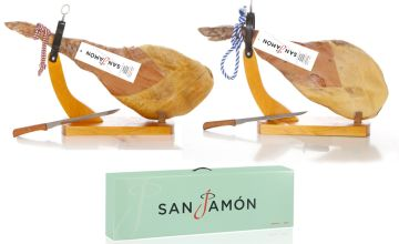 From £39.99 (from San Jamon) for a Serrano ham hamper