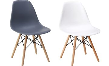 £59 instead of £186.01 (from Eurotrade) for a set of four retro Eiffel dining chairs - save 68%