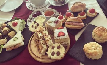 £12.50 instead of £25 for an afternoon tea for two at Cafe Cafe, South Benfleet - tuck into delicious sweet treats and save 50%