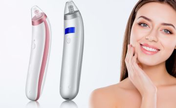 £10.99 instead of £39.99 (from Arther Gold) for a standard blackhead vacuum, £13.99 for a LCD blackhead vacuum - save up to 73%