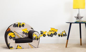 £29 (from Shopisy) for a children's print round foam small armchair
