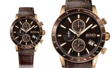 £159 instead of £299 (from Ticara Watches) for a Hugo Boss HB1513392 men's Rafale chronograph watch - save 47%