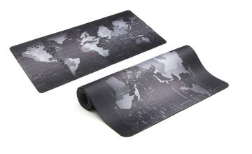 £4.99 instead of £32.99 (from Fusion Online) for a world map keyboard and mouse mat - save 75%