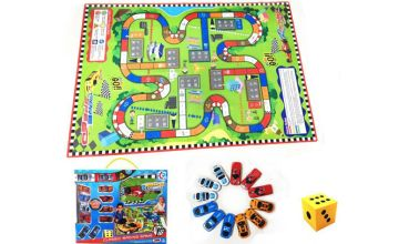 £9.99 instead of £39.99 (from Hey4beauty) for children's play dice puzzle mat with 12 car pieces - save 75%