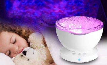 £12.99 instead of £39.99 (from Hey4beauty) for a multicolour ocean LED night lamp projection USB light - save 68%