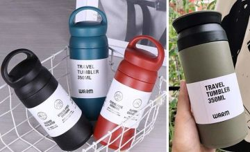 From £8 for an insulated mug from SecretStorz - save up to 73%
