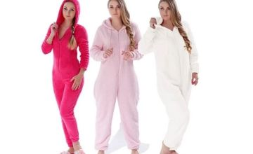£21.99 instead of £76.86 for a warm winter onesie - choose from six colours from Turbo Inc Limited - save 71%