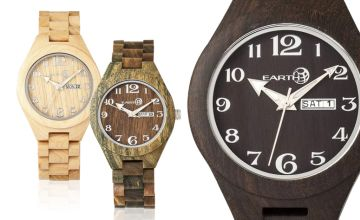 £49 instead of £130 (from Earth Wood Goods) for a 'Sapwood Collection' watch - choose from four designs and save 62%