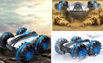 £26 instead of £69.99 (from My Brand Logic) for a remote control double-sided stunt car - save 63%