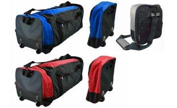 £12 instead of £69.99 (from Gift Gadget) for an EZ foldable wheeled trolley bag - choose from three colours and save 83%