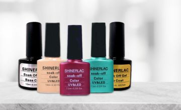 From £2.99 for a Pack of 1, 3 or 5 Soak Off Colour UV & LED Nail Polish from Forever Cosmetics - save up to 57%