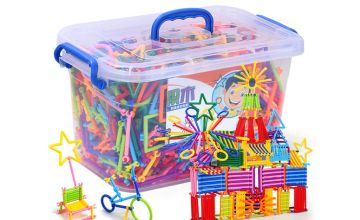 £6.99 instead of £29.99 (from Hey4Beauty) for a 420 piece set of creative smart sticks educational building blocks or £7.99 for a 500 piece set - save up to 77%