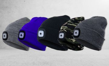 £4.99 instead of £29.99 (from Domo Secret) for one LED beanie hat or £7.99 for two - choose your colour! - Save 83%
