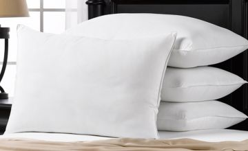 From £6.99 instead of £18.99 (from R&G Homeware) for a Luxury pillows hollow fibre filling (pick 2 or 4) – save up to 63%