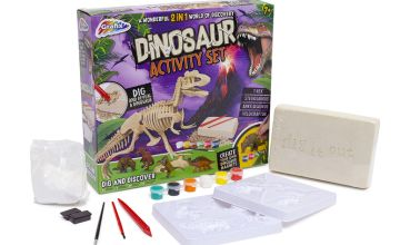 £5.99 instead of £17 (from Vivo Mounts) for a dinosaur activity set - save 65%