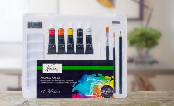 £6.99 instead of £19.99 (from Vivo Mounts) for a Nassau fine art acrylic paint start set - save 65%