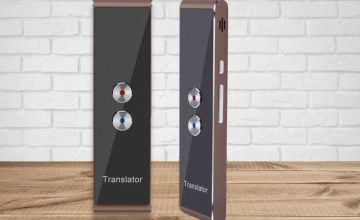 £29.99 instead of £89.99 for a portable smart language translator - choose from two colours from Hey4Beauty - save up to 67%