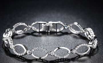 £9.99 instead of £99.99 (from Gemnations) for a multi-linked gem chain bracelet - save 90%