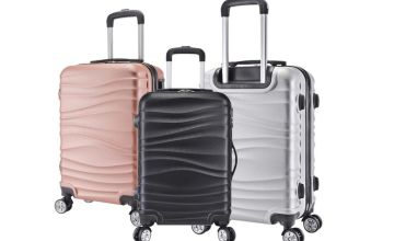 £59.99 for a three-piece wave luggage set