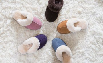 £19.99 instead of £100.19 (from Redfoot) for a pair of ladies sheepskin mule slippers - save 80%