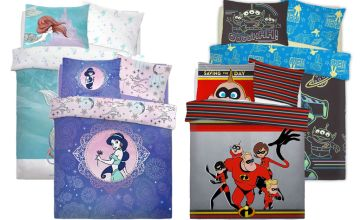 £12.99 (from Five Minutes More) for a single Disney themed reversible duvet cover set or £17.99 for a double - choose your design and save up to 83%