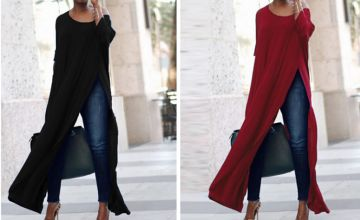£9.99 instead of £29.99 for a Long Off Shoulder Split Blouse - 6 Colours & 4 Sizes to choose from Hey4Beauty - save 67%