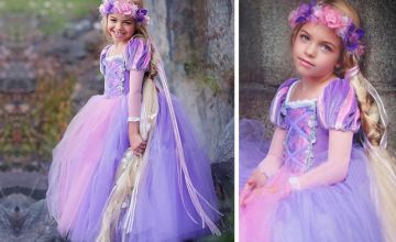 £12 instead of £39.99 (from Blu Fish) for a fairy tale princess dress - save 70%