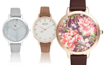 £16.99 instead of £99 (from Brand Arena) for a Charlotte Raffaelli ladies' watch - save 83%